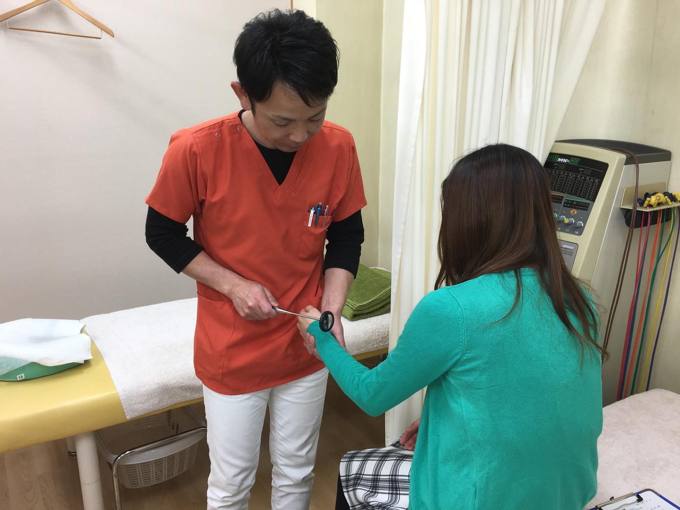 接骨診断の風景3