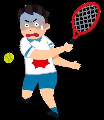 スポーツする少年のイラスト2
